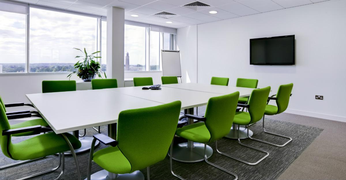 reformar a sala de reunião